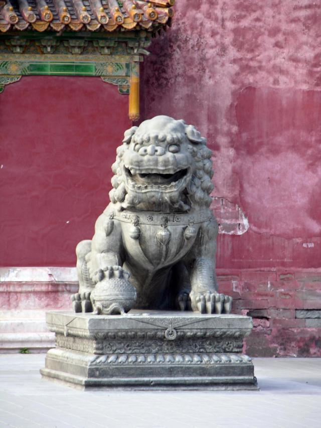 Male Shishi - Forbidden City, Bejing, China 2007