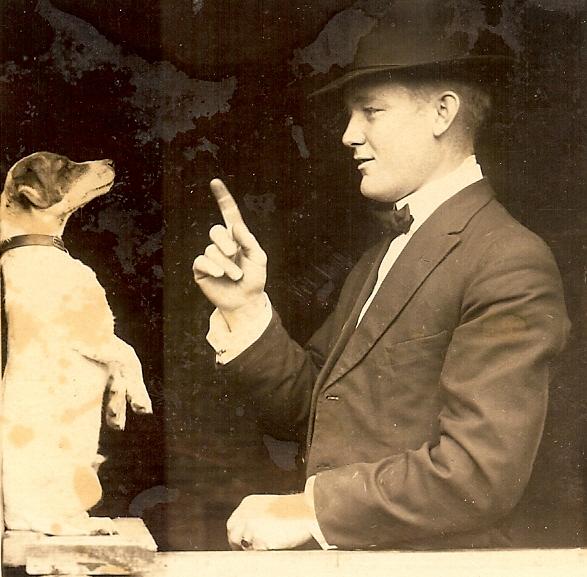 hugh brunnemann and dog0001