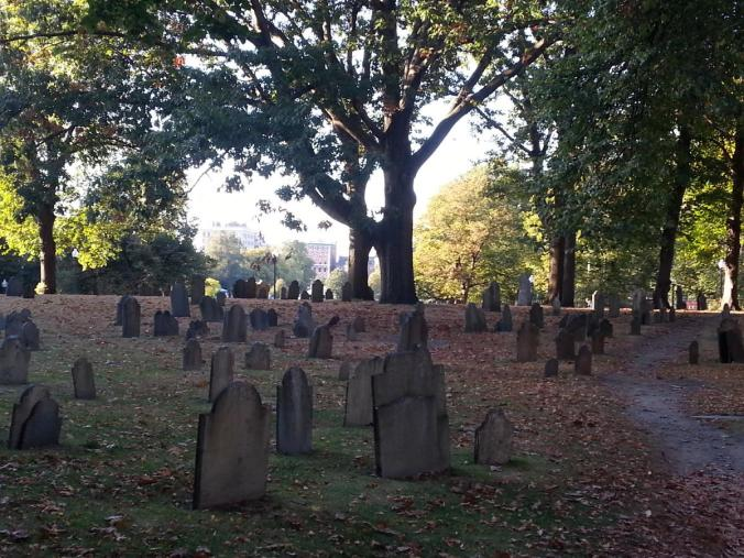 Boston Common Cemetery1