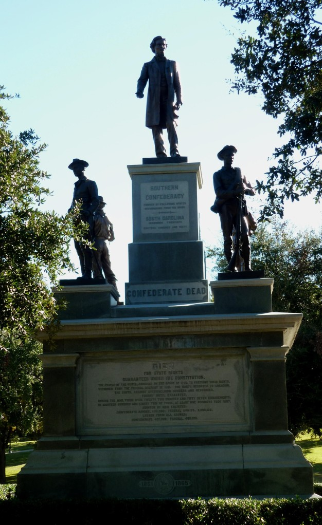 Confederate Memorial Texas Capitol Grounds - Nov 14