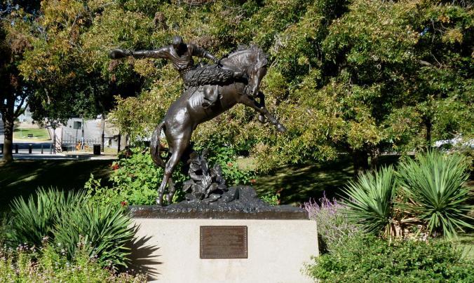 Cowboy Bronze Texas Capitol Grounds - Nov 14