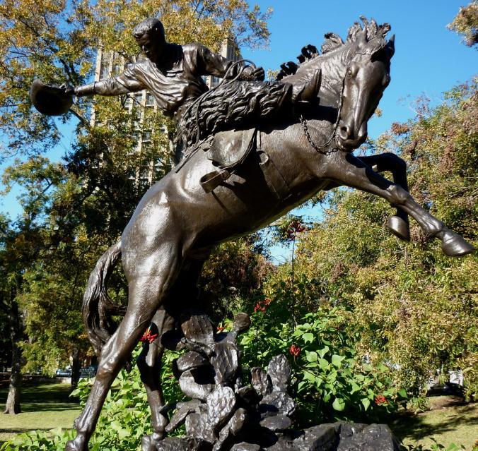 Cowboy Bronze Texas Capitol Grounds1 - Nov 14