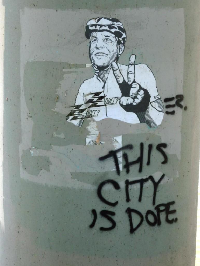 MoPac Bridge Graffitti - Nov 14