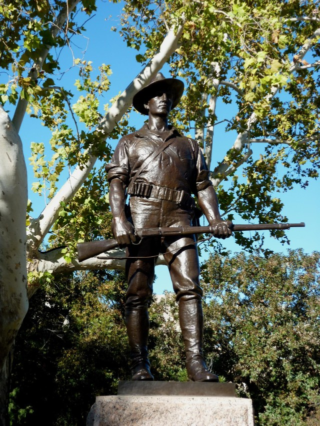 Spanish American War Memorial Texas Capitol Grounds - Nov 14