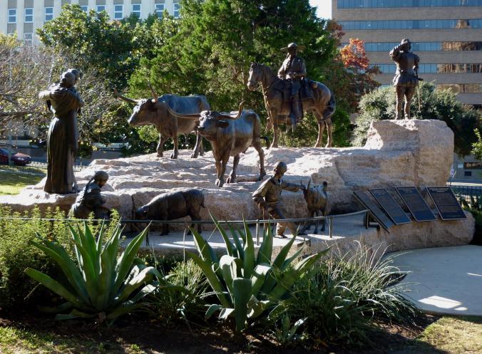 Spanish and Tejano Memorial Texas Capitol Grounds - Nov 14