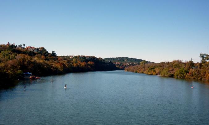 Town Lake to Redbud Isle - Nov 14