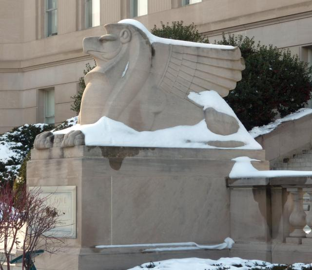 Art Deco Griffin - February 2015