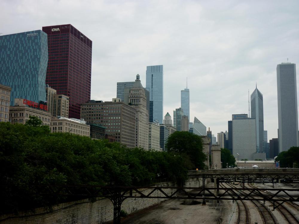 City Skyline - Chicago, Illinois - July 2015
