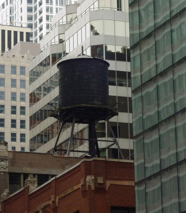 Old Water Tower - Michigan Avenue - Chicago, Illinois - July 2015