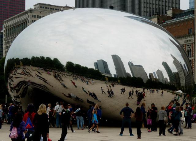 'The Bean' - Millennium Park - Chicago, Illinois - July 2015