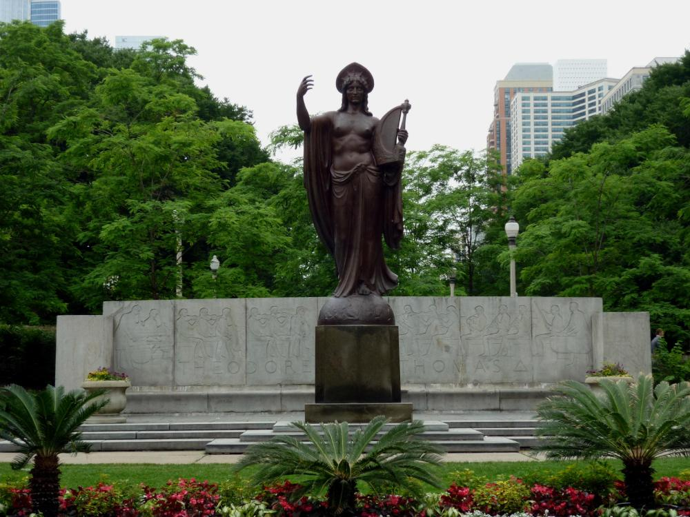 Theodore Thomas Memorial - Grant Park - Chicago, Illinois - July 2015