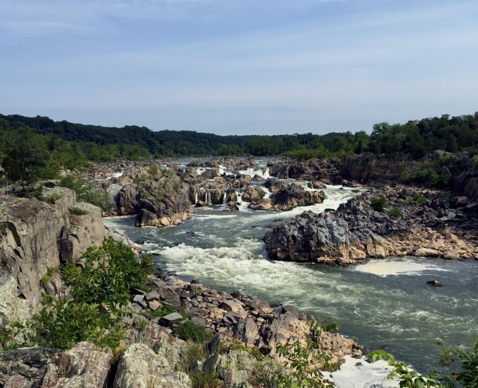 Great Falls of the Potomac - August 2015