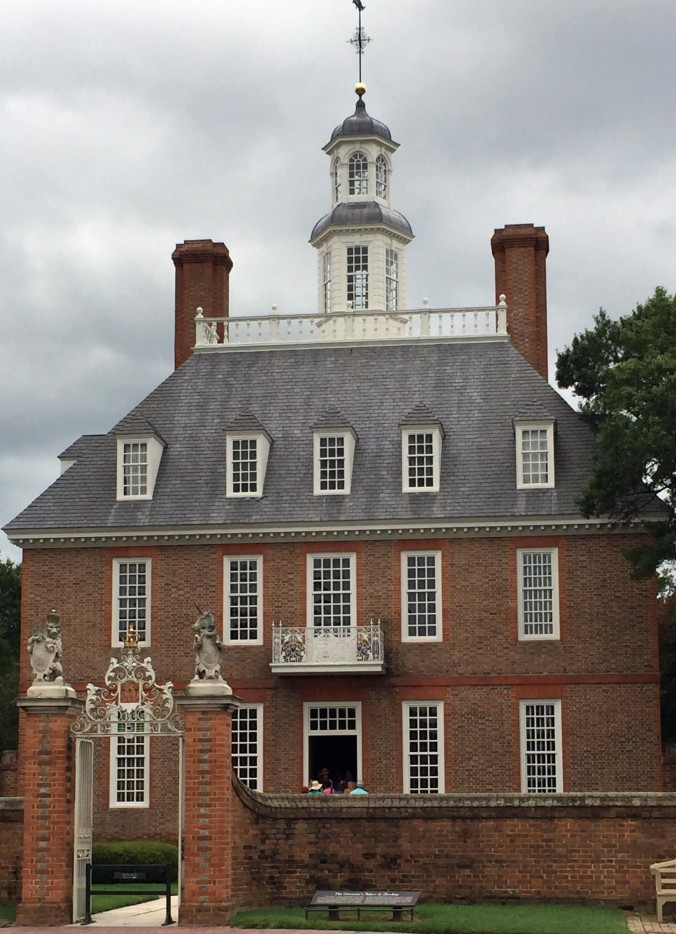 Williamsburg Governor's Palace - August 2015