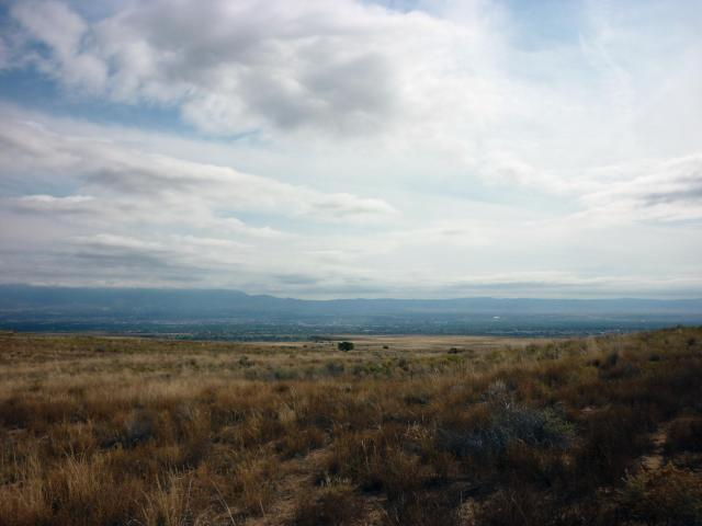 Albuquerque and the Sandia Mountains - Albuquerque NM - October 2015