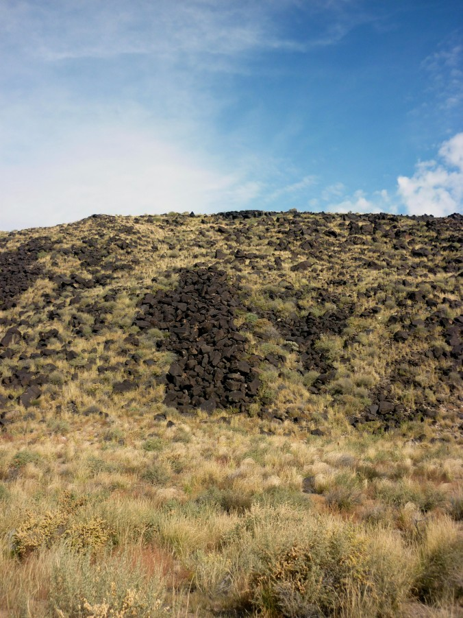 Lava Rocks - Petroglyph National Monument - Albuquerque NM - October 2015