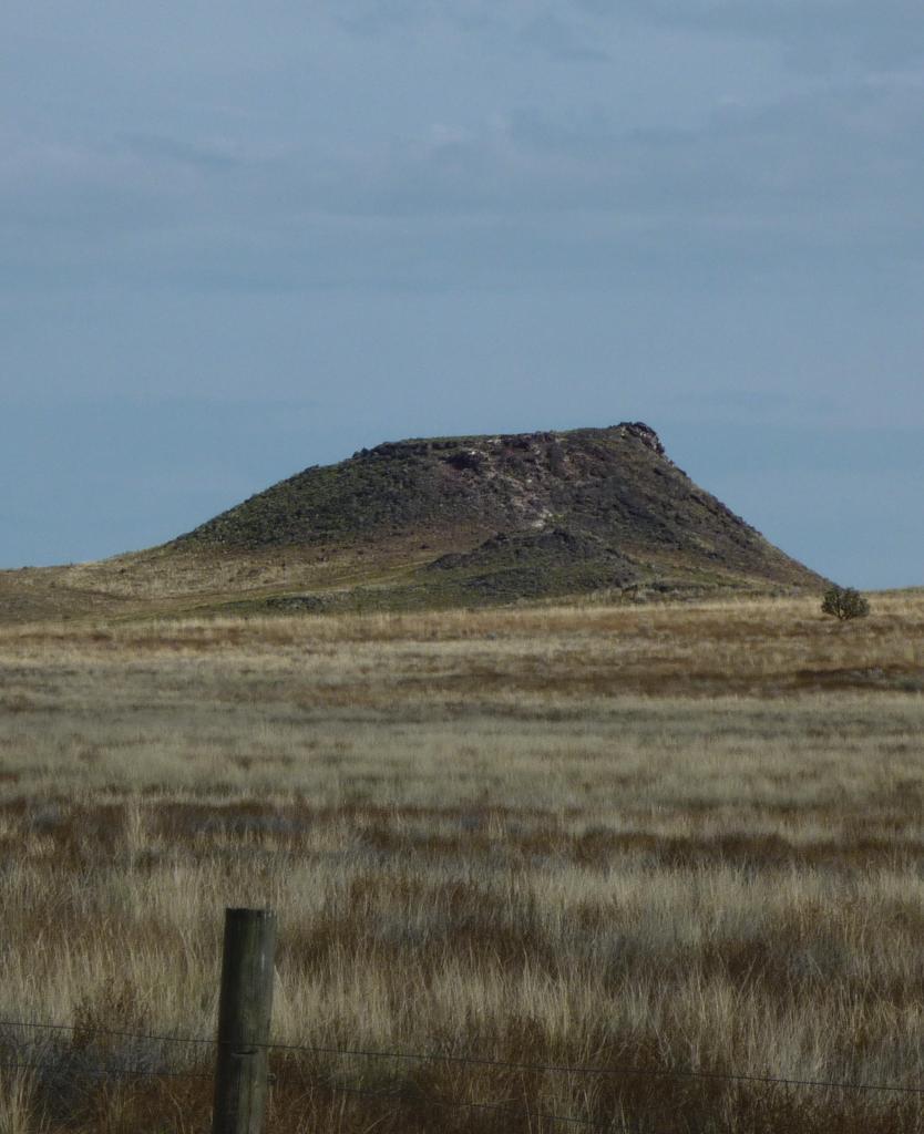 Vulcan Volcano - Petroglyph National Monument - Albuquerque NM - October 2015