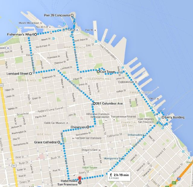 Walking Map