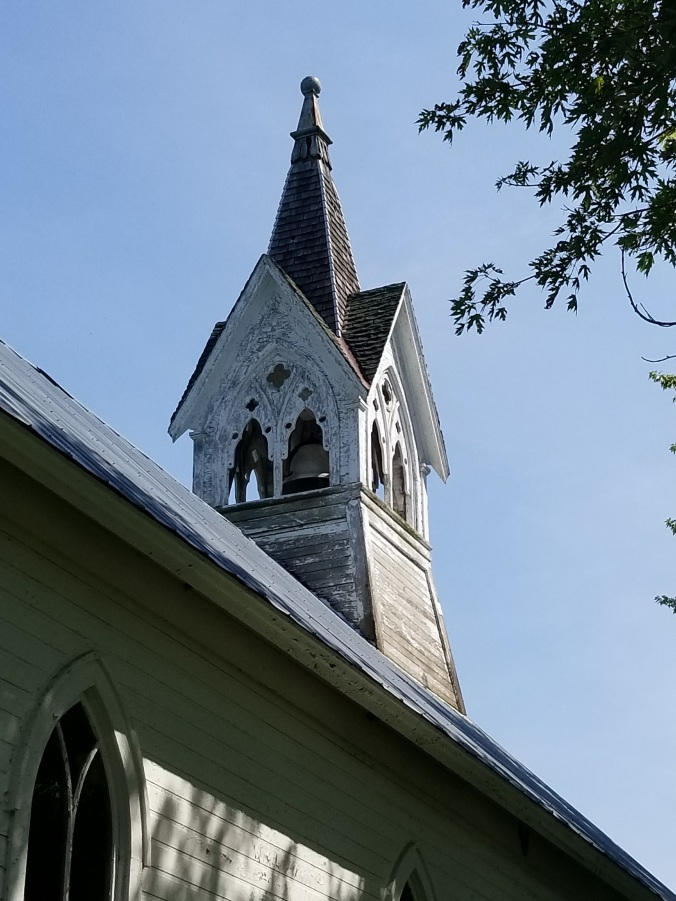 Bethel ME Chapel Steeple - Pike County Illinois