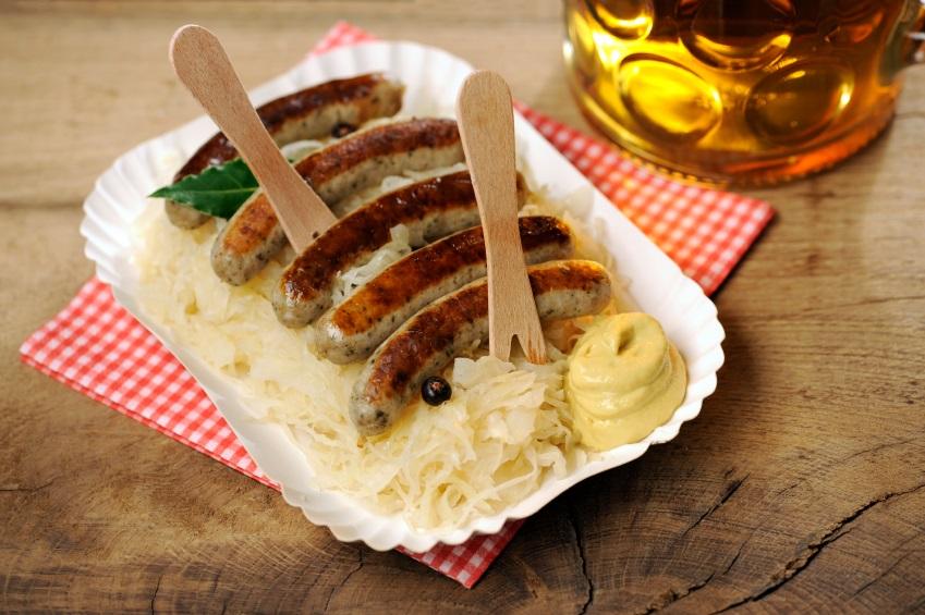 Bratwurst-Oktoberfest